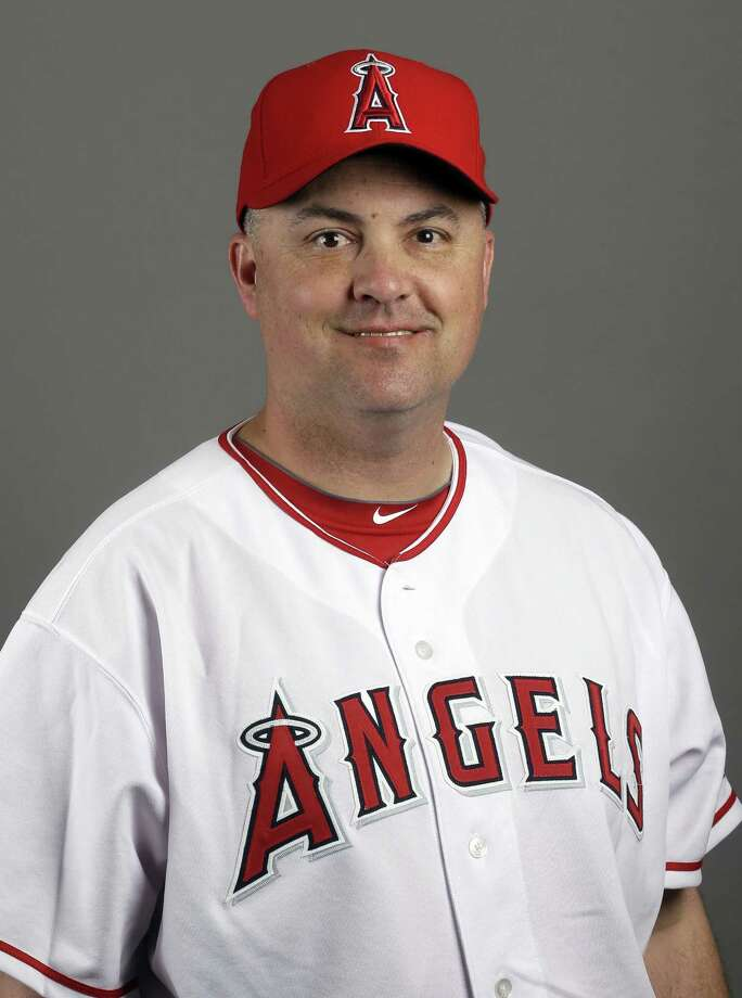 Los Angeles Angels coach Rico Brogna is back with the team following surgery for testicular cancer. Photo: The Associated Press File Photo   / MLBPV AP