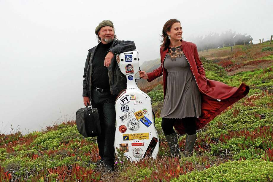 """<a href=""""http://www.alasdairfraser.com """">Alasdair Fraser</a> and Natalie Haas play Sunday night in North Madison and it's <a href=""""http://www.goldenhindmusic.com/ """">John Roberts and Tony Barrand</a> Saturday in Branford. Photo: Contributed Photos"""