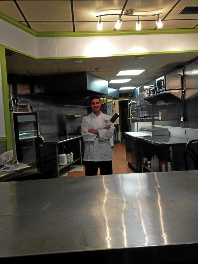CONTRIBUTED PHOTO  Josh Wechsler, owner and executive chef of Edibolic Kitchen in Branford. Photo: Journal Register Co.