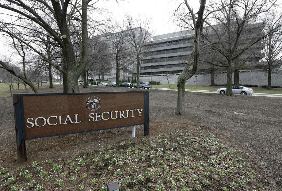 FILE - In this Jan. 11, 2013 file photo, the Social Security Administration's main campus is seen in Woodlawn, Md. Social Security overpaid disability beneficiaries by nearly $17 billion over the past decade, a government watchdog said Friday, raising alarms about the massive program just as it approaches the brink of insolvency. Many payments went to people who earned too much money to qualify for benefits, or to those no longer disabled. Payments also went to people who had died or were in prison. Photo: (AP Photo/Patrick Semansky, File) / AP