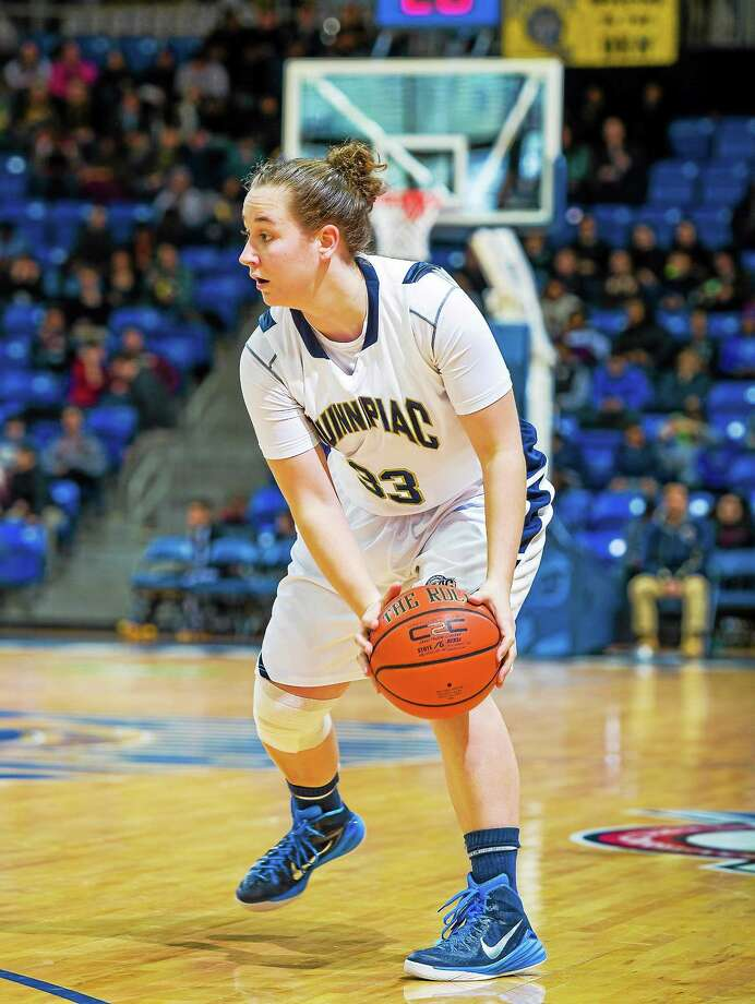 Quinnipiac point guard Gillian Abshire will look to lead the Bobcats to the MAAC tournament title and a berth in the NCAA tournament. Photo: Photo Courtesy Of Quinnipiac Athletics   / © John Hassett 2014
