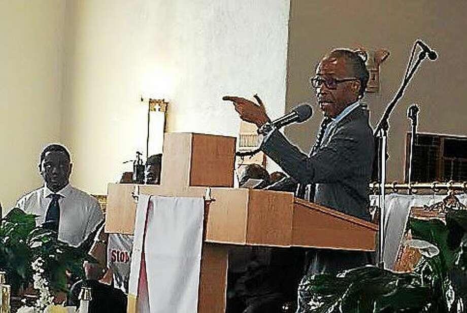 Rev. Al Sharpton Photo: Madeline Stocker PHOTO, CTNewsJunkie