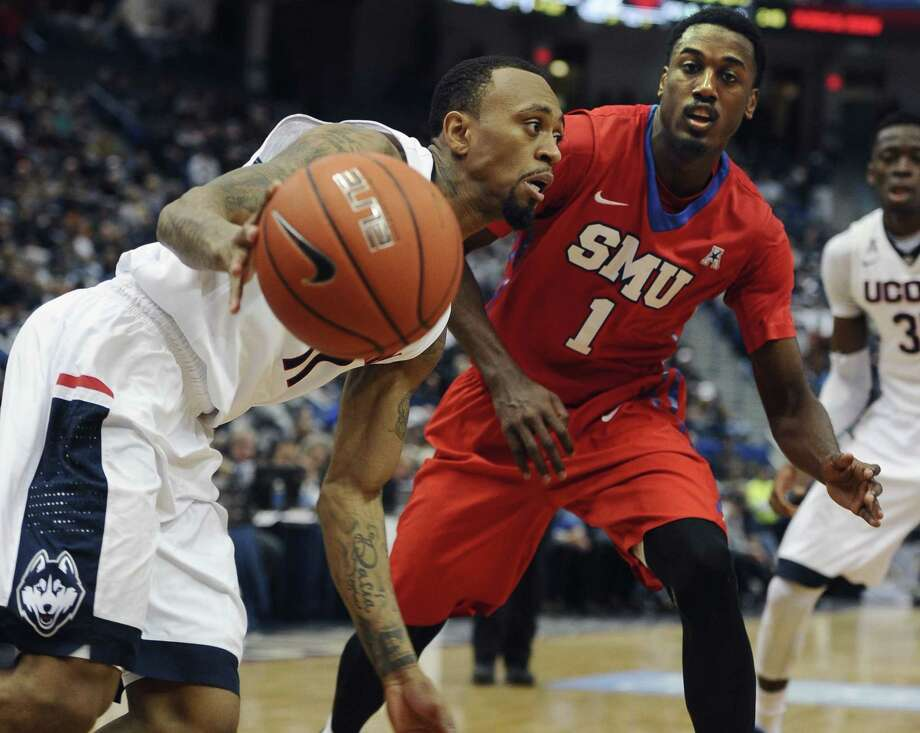 UConn's Ryan Boatright will be honored on Thursday at Senior Night at Gampel Pavilion before the Huskies' game against Memphis. Photo: Jessica Hill — The Associated Press   / FR125654 AP