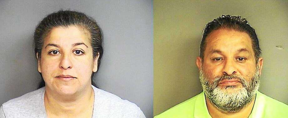 L to R: Bobbie White and Tommy Miller Photo: Stamford Police Department