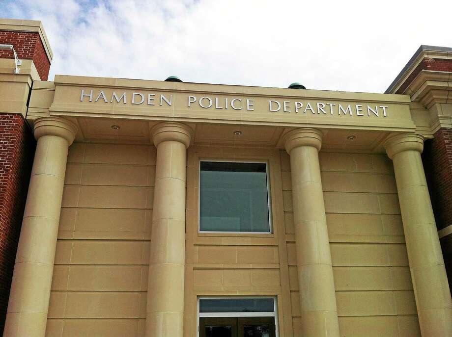 The Hamden Police Department. Photo: Journal Register Co.