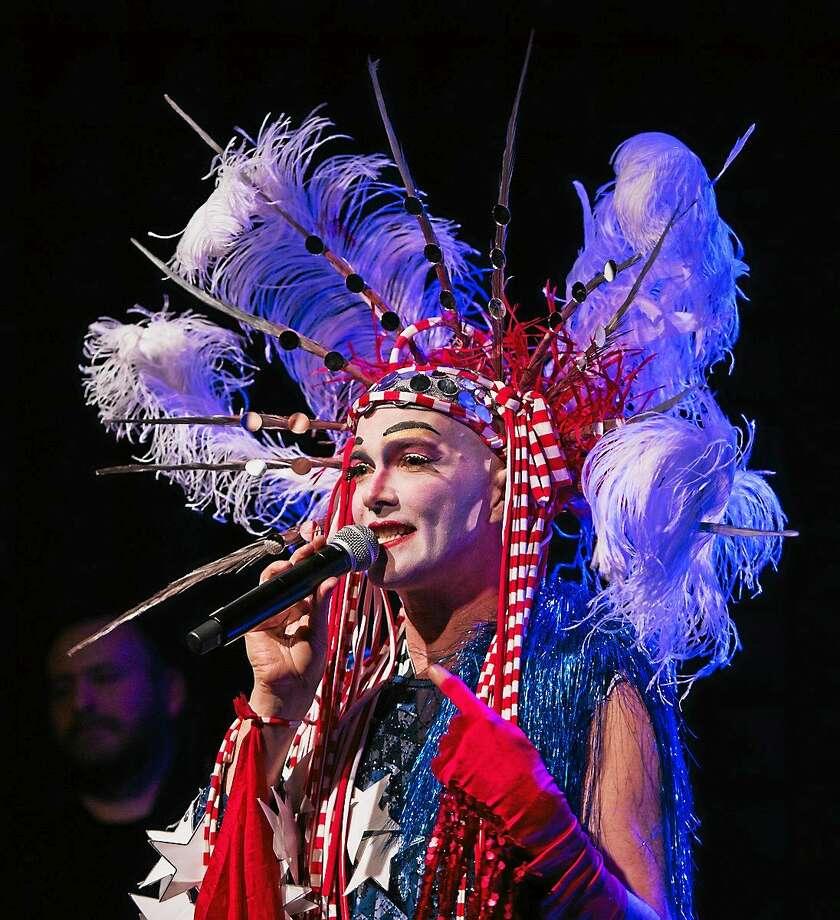 Performance artist Taylor Mac is at University Theatre June 12 and 13. Photo: Kevin Yatarola   / ? Kevin Yatarola