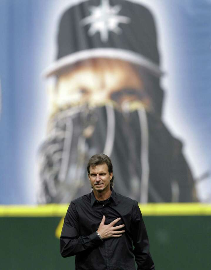 With a menacing fastball and devastating slider, Randy Johnson had a career that rivaled any other left-handed pitcher who played the game. Photo: Elaine Thompson — The Associated Press File Photo   / AP