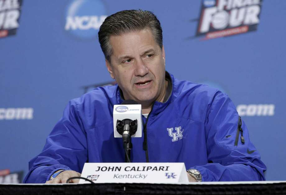 Kentucky's John Calipari is the AP coach of the year. Photo: Darron Cummings — The Associated Press   / AP