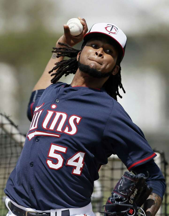 Minnesota Twins starting pitcher Ervin Santana has been suspended for 80 games by Major League Baseball after testing positive for the performance-enhancing substance Stanozolol. Photo: Tony Gutierrez — The Associated Press File Photo   / AP