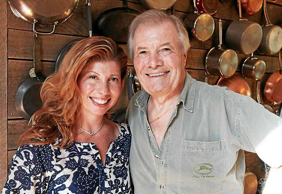 Now a chef herself, Claudine Pepin and her dad, Jacques Pepin, cooked together on three public television shows. The father-daughter give and take in the kitchen was a highlight of the shows. Photo: Contributed Photos
