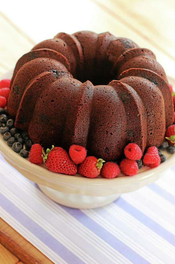 Chocolate Raspberry Beet Cake Photo: Matthew Mead — The Associated Press   / FR170582 AP