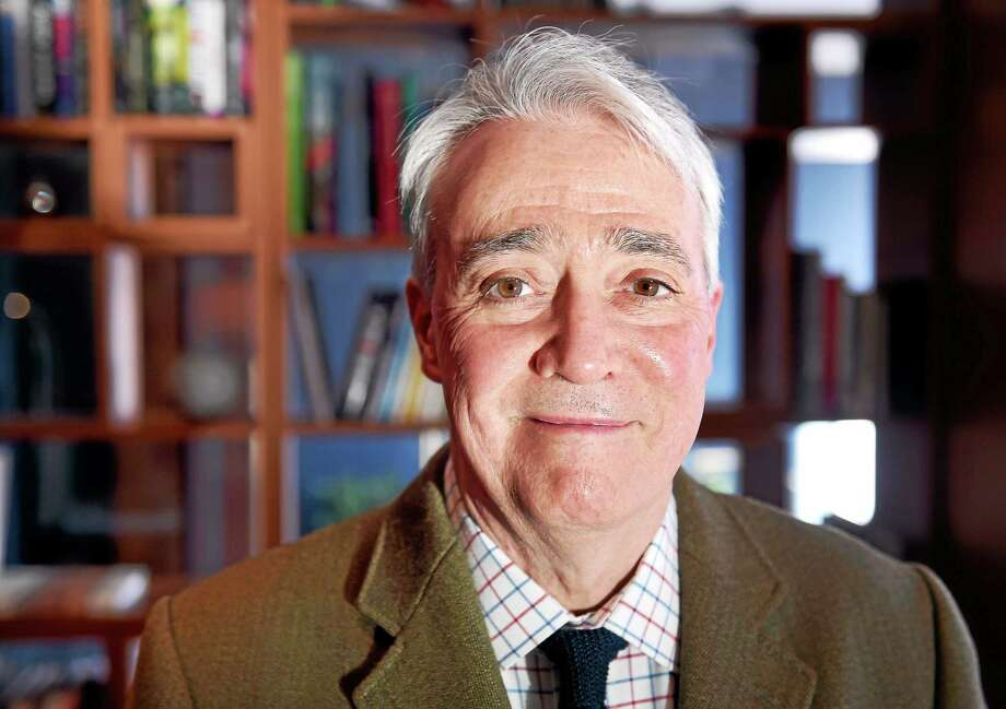 (Arnold Gold-New Haven Register)  Scott Simon, host of NPR's Weekend Edition, is photographed at The Study in New Haven on 4/1/2015. Photo: Journal Register Co.