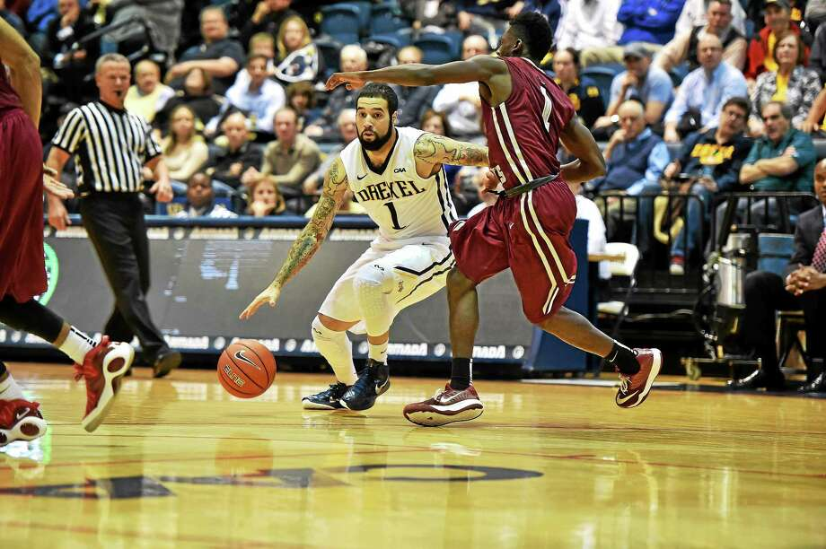 Former Hillhouse star Freddie Wilson just wrapped up his collegiate career with Drexel. Photo: Photo Courtesy Of Drexel Athletics   / Sideline Photos   Greg Carroccio