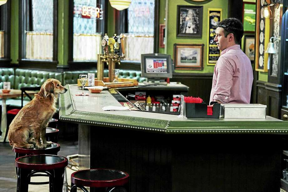 "Brent Morin co-stars on ""Undateable."" This taped episode was aptly titled ""A Stray Dog Walks Into A Bar."" On Tuesday night at 9 on NBC, they'll do the show live. The danger factor will be high, Morin said, ""because we mess up a lot on our show."" Photo: Ben Cohen - NBC   / 2015 NBCUniversal Media, LLC"