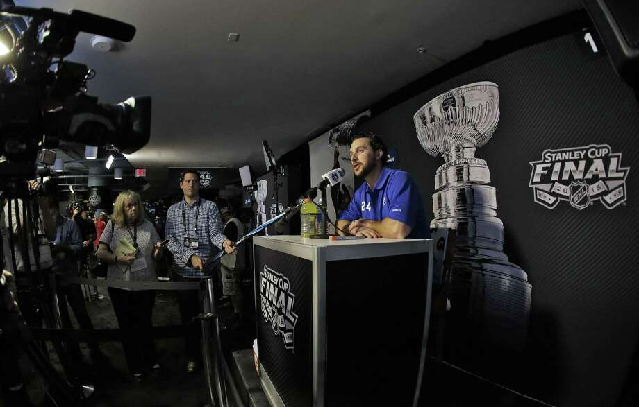 Ryan Callahan and the Tampa Bay Lightning will take on the Chicago Blackhawks in the Stanley Cup Finals. Photo: Chris O'Meara — The Associated Press   / AP