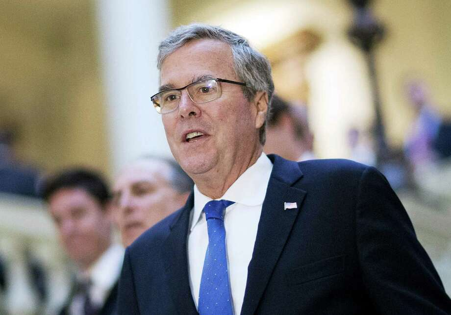 In this March 19, 2015 photo, former Florida Gov. Jeb Bush visits the Georgia Capitol in Atlanta. Photo: AP Photo/David Goldman, File   / AP