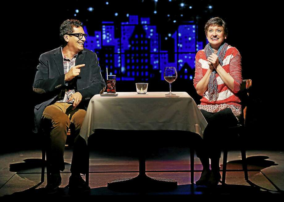 """Alfredo Narciso and Laurel Casillo are made for each other in """"Elevada"""" at Yale Rep. Photo: Carol Rosegg   / Carol Rosegg"""