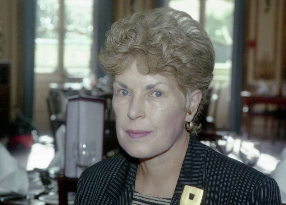 This 1995 file photo shows Ruth Rendell in London. Prolific crime writer Rendell has died. Photo: (AP Photo/Max Nash, File) / AP