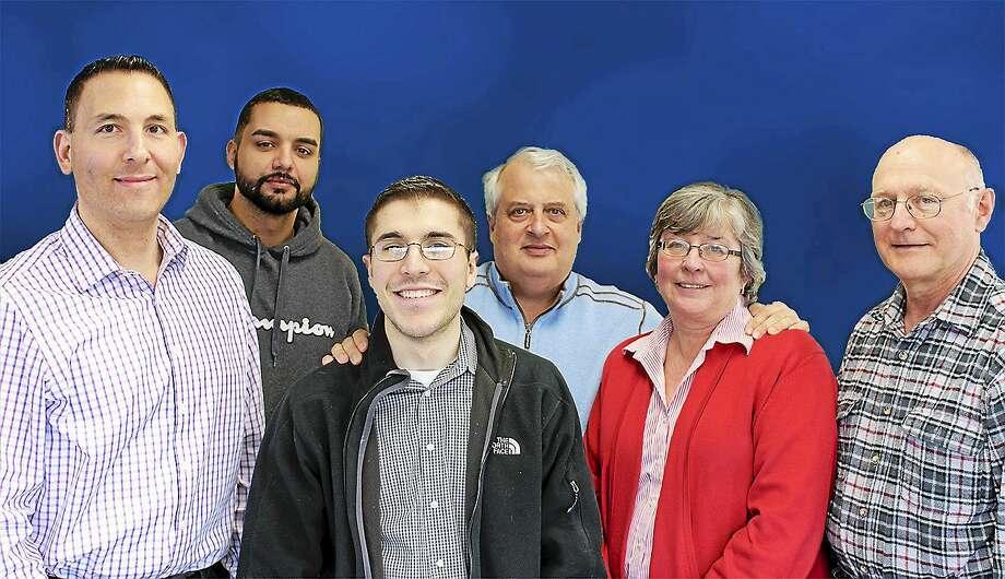 From left, Watson employees Johnpaul Tata, Jose Colon, Andrew Matsis, Michael Saulsberry, Terri Hausmann and John Kwasnik. Photo: CONTRIBUTED PHOTO — Blake Powers
