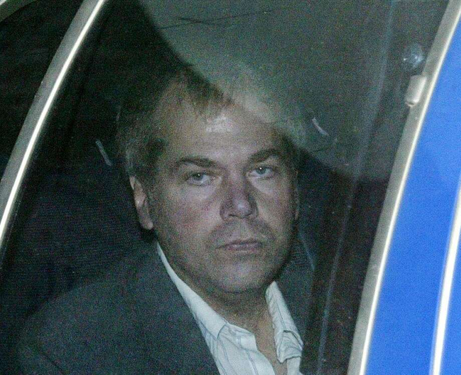 FILE - In this Nov. 18, 2003 file photo, John Hinckley Jr. arrives at U.S. District Court in Washington. Photo: (AP Photo/Evan Vucci, File) / AP