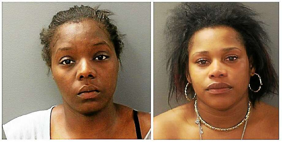 L to R: Jamesha Belton and Shantasia Mabery Photo: Hamden Police Department.