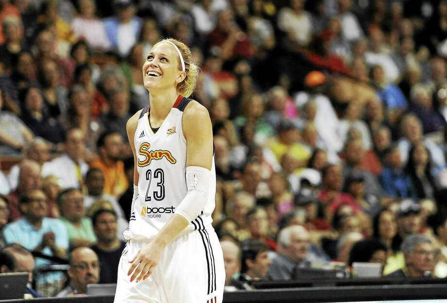 Connecticut Sun guard Katie Douglas announced her retirement on Friday. Photo: Jessica Hill — The Associated Press File Photo   / AP2014