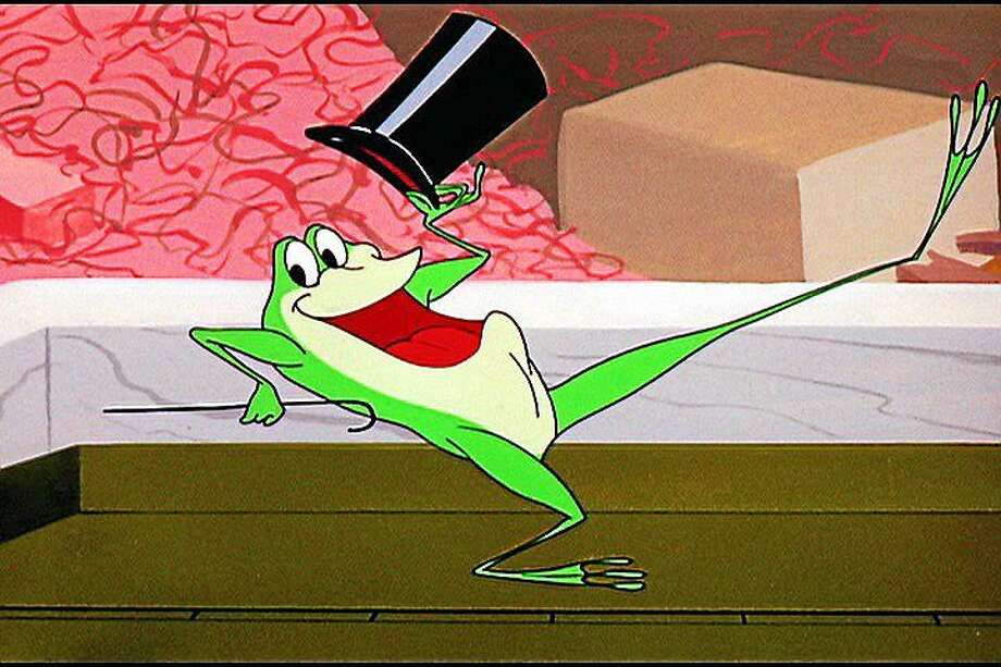 "Michigan J. Frog in ""One Froggy Evening."" Photo: Warner Bros."