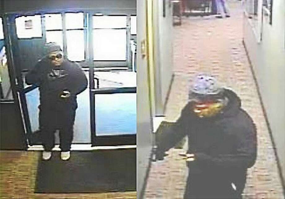 Police say two men brandishing guns robbed the Winners Milford off track betting location late Thursday afternoon. The men left with an undisclosed amount of money. Photo: Photos Courtesy Of The Milford Police Department