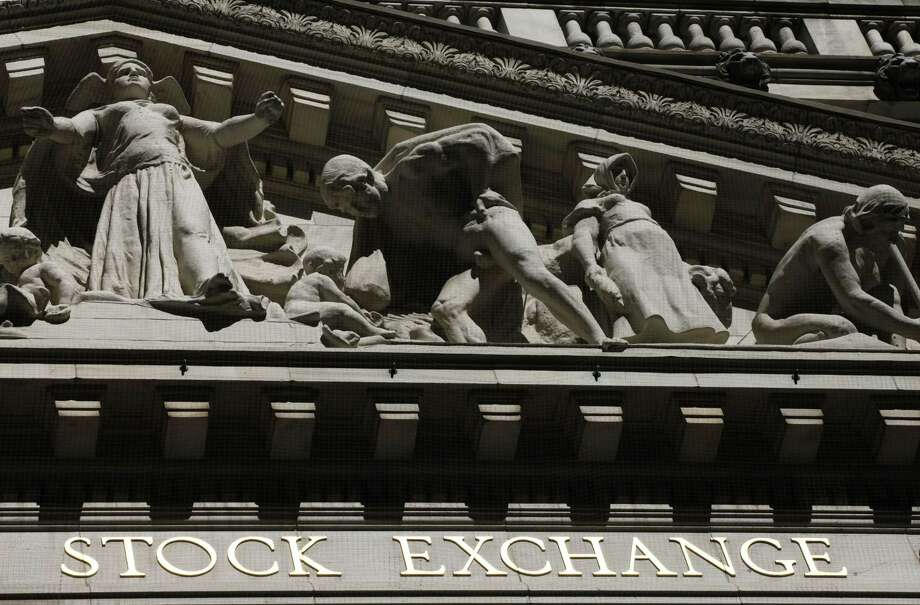 FILE - This July 15, 2013 file photo shows the New York Stock Exchange in New York. U.S. stocks inched mostly lower in morning trading Monday, June 1, 2015, as investors sold across industries. Photo: THE ASSOCIATED PRESS / AP