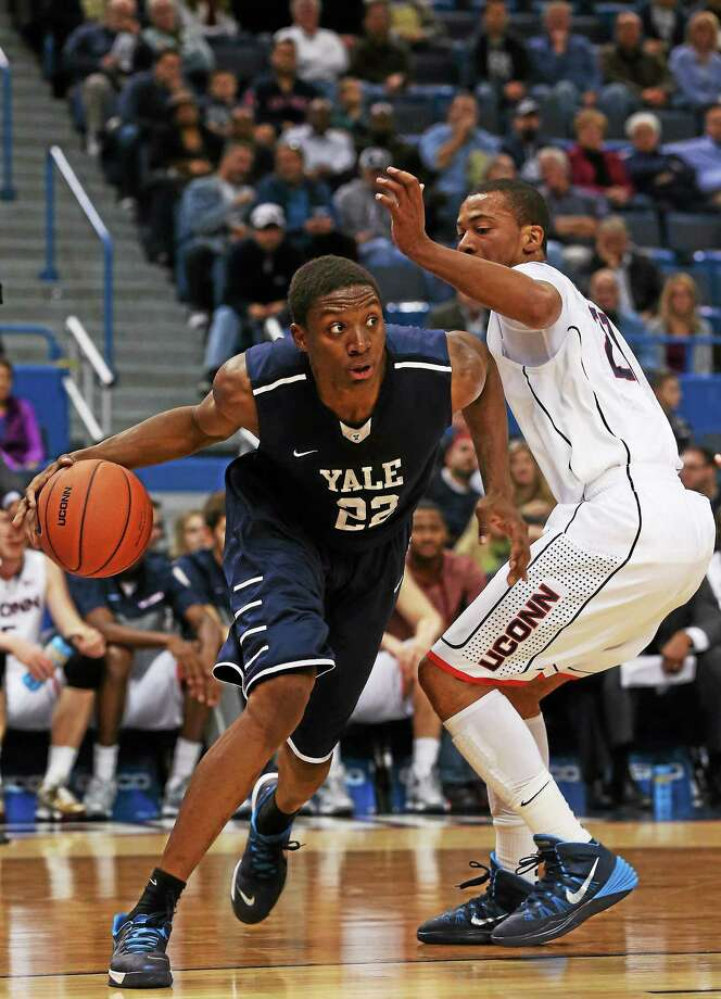 Justin Sears and the Yale men's basketball team faces VMI Tuesday in the semifinals of the CollegeInsider.com postseason tournament Photo: Photo Courtesy Of Yale Athletics