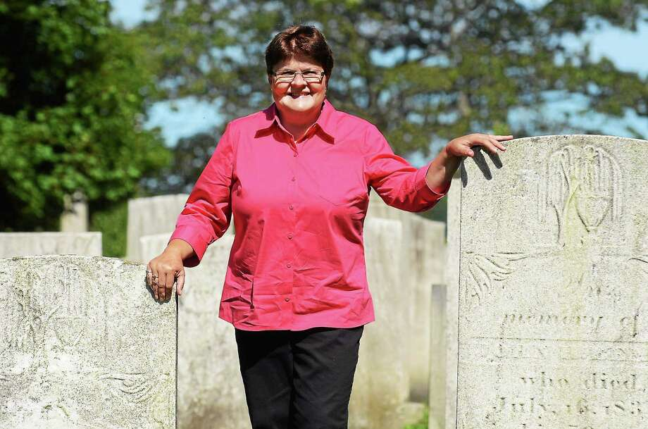 "Branford Town Historian Jane Bouley will discuss her newly released ""The Civil War Soldiers of Branford, Connecticut"" at Lenny's Indian Head, 205 S. Montowese St., at noon Wednesday. Photo: Photo By Bill O'Brien"