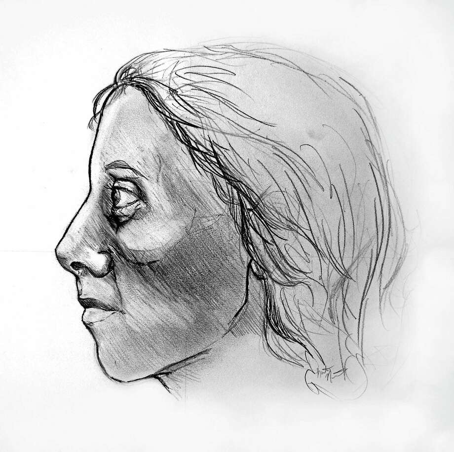 Composite sketch prepared by Quinnipiac University medical student Katelyn Norman was released by police in hopes of identifying remains found in Vernon. Photo: Journal Register Co.