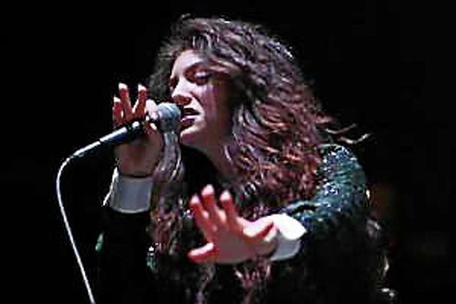 Lorde performs during the Not So Silent Night concert night two at the Oracle Arena in Oakland, Calif., on Saturday, Dec. 7, 2013. Photo: (Ray Chavez — Bay Area News Group)