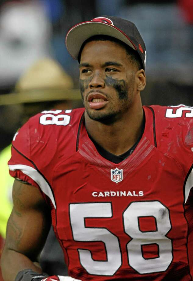 Arizona Cardinals inside linebacker Daryl Washington has been suspended for one year for violating the league's substance abuse policy. Photo: Rick Scuteri — The Associated Press File Photo   / FR157181 AP