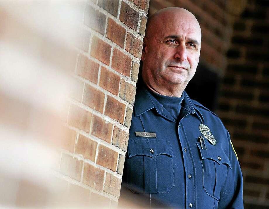 Former police Officer Robert Nappe. Photo: Brad Horrigan — New Haven Register FILE PHOTO