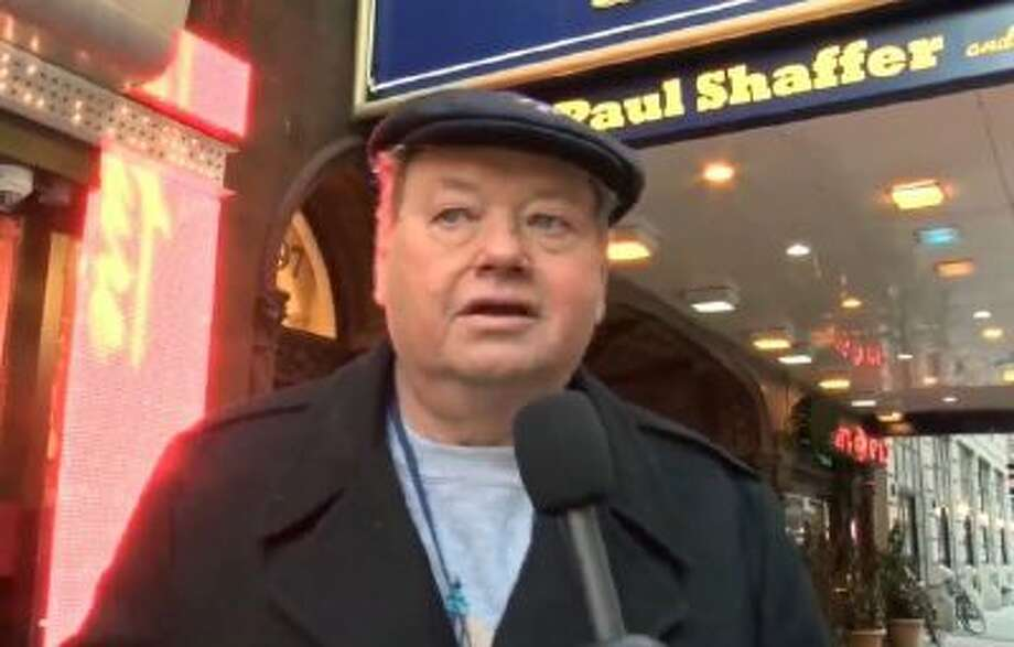 Woody Paige, outside the Late Show with David Letterman studio, gives his Top 10 reasons the Broncos will beat the Seahawks in Super Bowl XLVIII.