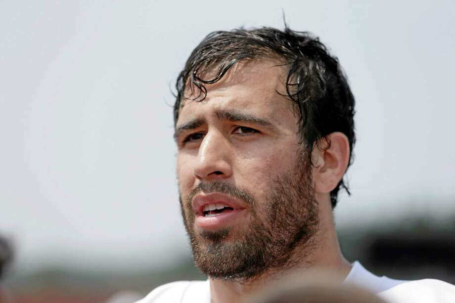 New York Jets rookie tight end Jace Amaro is unfazed by his rocky start to training camp. Photo: The Associated Press   / AP