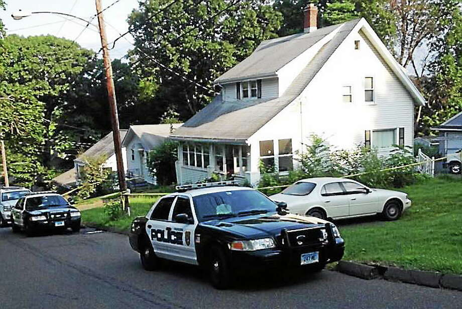 Police in Meriden blocked off a home at 70 Hillcrest Avenue for an investigation early Wednesday morning. Few details about what happened were immediately available. Photo: (Kristin Stoller -- New Haven Register)