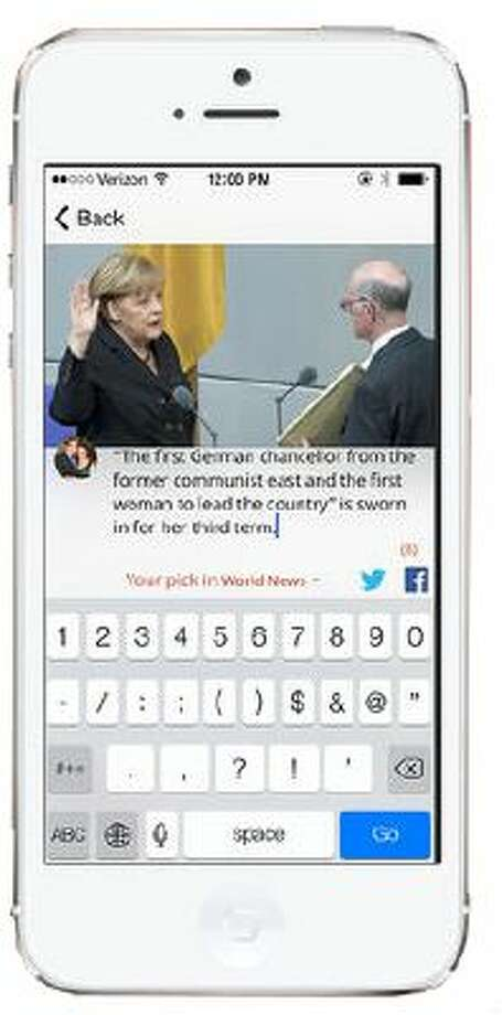 Trove has applied its expertise in the news business to come up with a namesake app for the iPhone and iPad. Photo: The Washington Post / The Washington Post