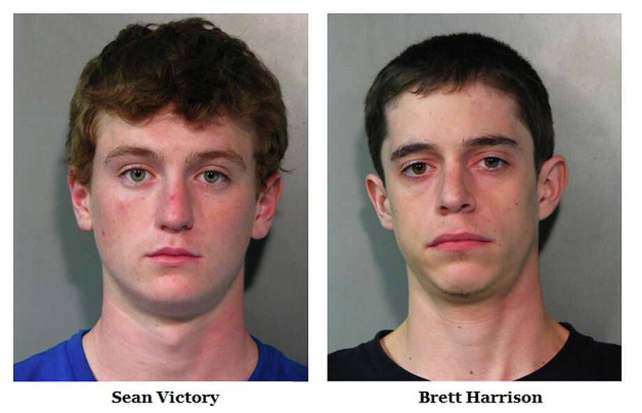 Sean Victory and Brett Harrison Photo: Nassau County Police Department