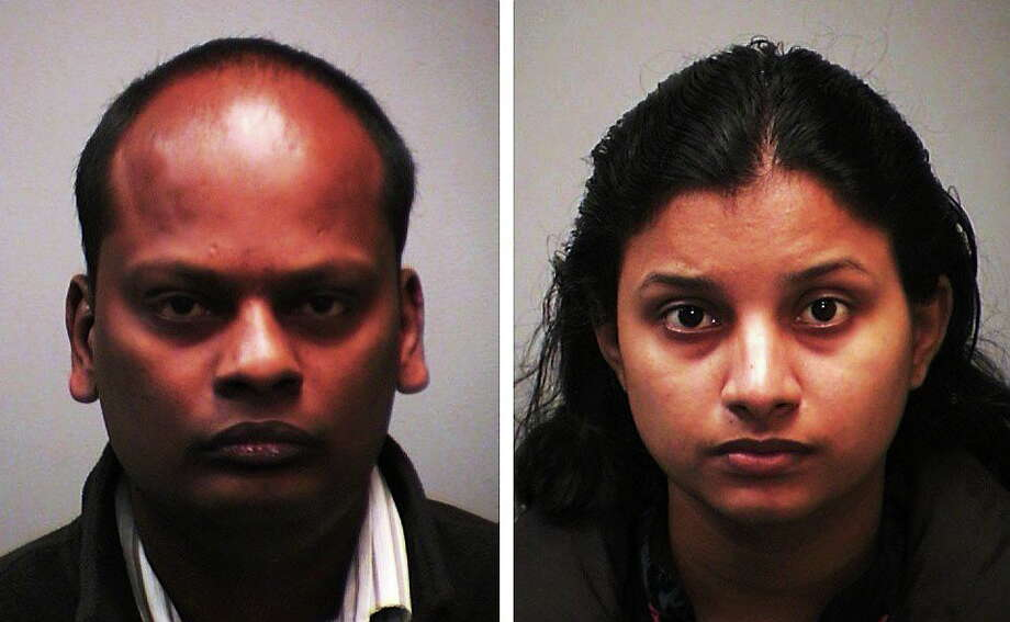 Mani Sivakumar, left, and Thenmozhi Rajendran. Photo: Journal Register Co.