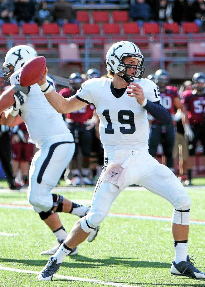 Yale quarterback Morgan Roberts has impressed in spring practices. Photo: PHOTO COURTESY OF YALE ATHLETICS   / 2013 All Rights Reserved