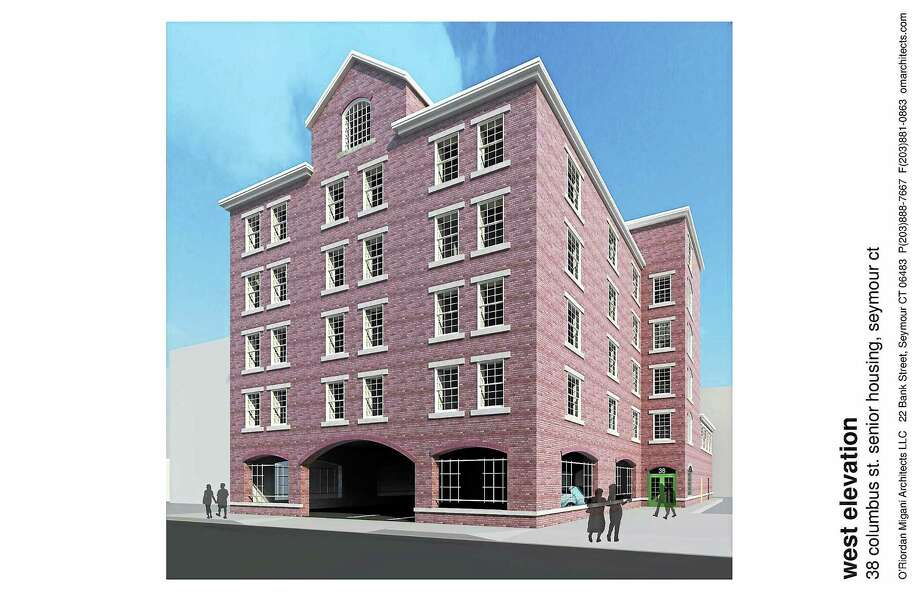 Illustration of proposed senior housing development in Seymour. Photo: Contributed Photo