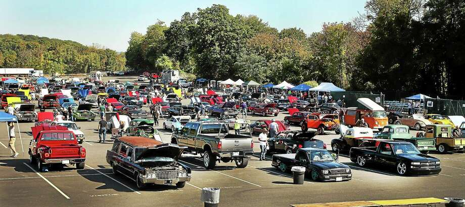 The the 9th Annual Sikorsky Motorcycle Ride and Classic Car Show held at Sikorsky Aircraft in Stratford.  (Contributed photo by Stuart Walls) Photo: Journal Register Co.