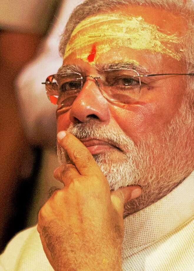 Narendra Modi  (AP Photo/Rajesh Kumar Singh) Photo: AP / AP2014