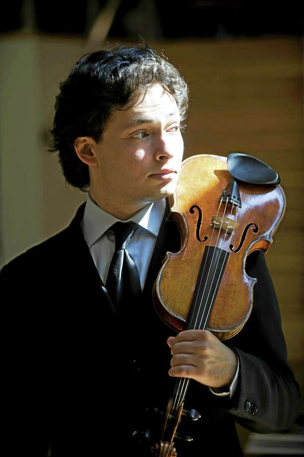 "Kevin Sprague photo  Yevgeny Kutik will be featured in Prokofiev's ""Violin Concerto No. 1."" Photo: Journal Register Co."