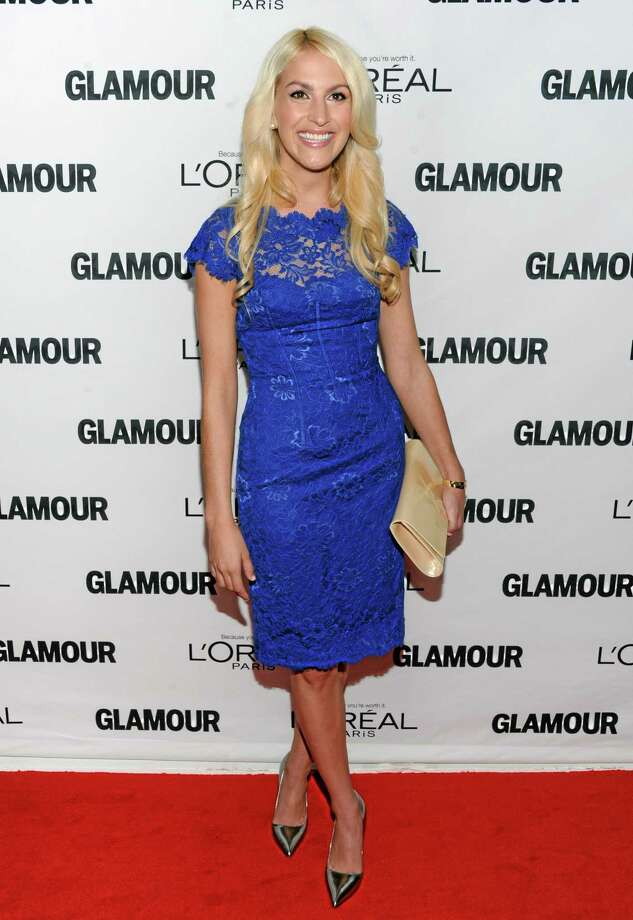 """FILE - This Nov. 11, 2013 file photo shows honoree Kaitlin Roig-DeBellis attending the 23rd Annual Glamour Women of the Year Awards at Carnegie Hall in New York. Roig-DeBellis, a teacher at Sandy Hook Elementary School who helped save students' lives during a mass shooting, has a book deal. G.P. Putnam's Sons for """"Choosing Hope: Moving Forward from Your Life's Darkest Hour."""" The book will be released in the spring of 2015. (Photo by Evan Agostini/Invision/AP, File) Photo: Evan Agostini/Invision/AP / Invision"""