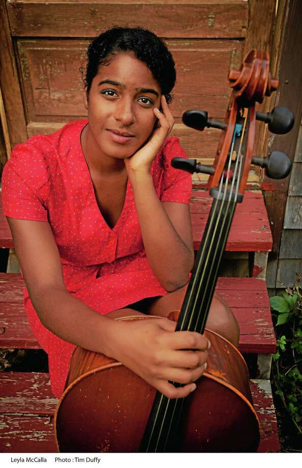 Leyla McCalla will be at Cafe Nine Friday night Photo: Tim Duffy