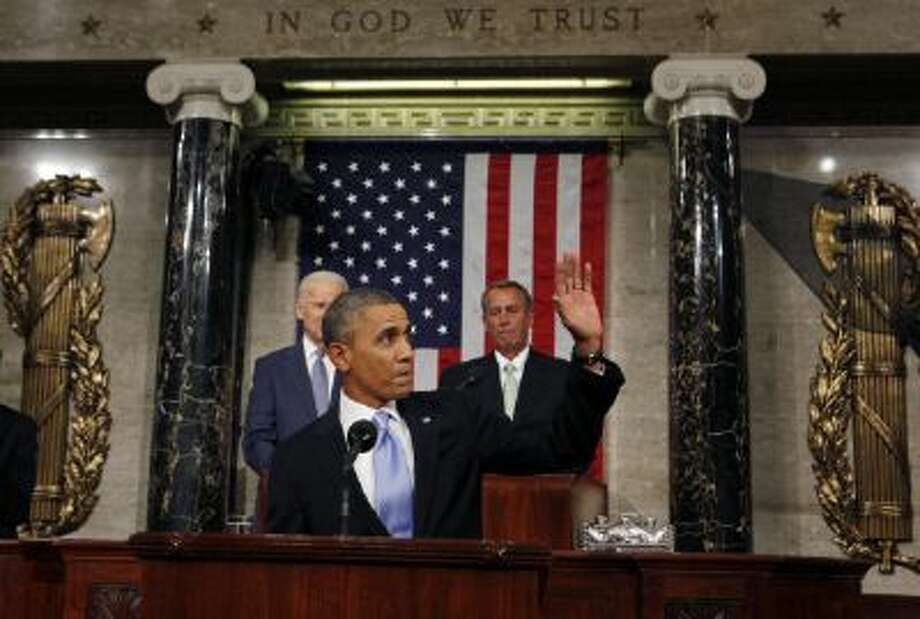 President Obama gives his fifth State of the Union. Photo: Getty Images / 2014 Getty Images