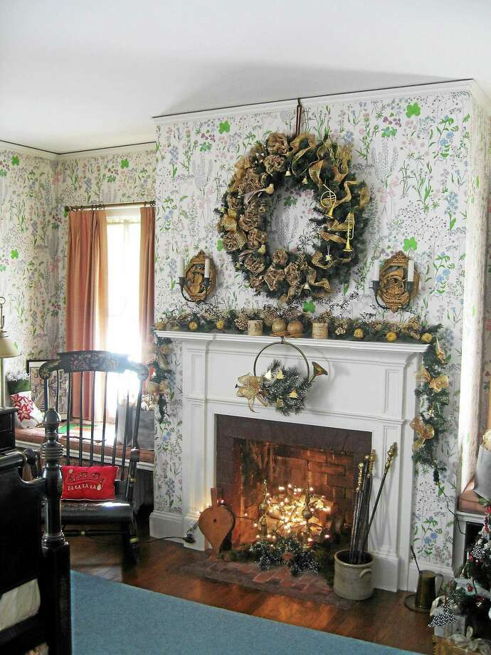 The Osborne Homestead Museum in Derby is decorated for its Holidays at the Symphony tours now through Dec. 20. Photo: Connecticut State Parks